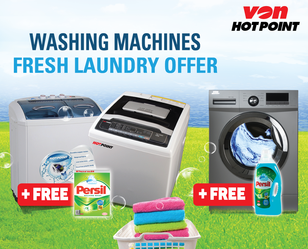 VOn Hotpoint washing machine offer