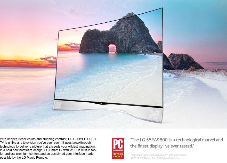 """LG 55EA9800 55"""" OLED TV"""