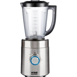 Von Hotpoint HB281HS Blender with Mill, 850W, AS Jar - Stainless Steel