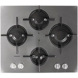 Ariston FTGHL 641 D/IX/A Built In Hob, 4 Gas, 60CM - Stainless Steel