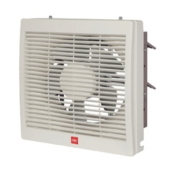 "KDK 25ALHT Wall Extractor 10"" Fan With Front Louver"
