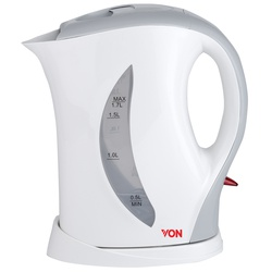 Von HK217FY/VSKL17MFY 1.7L Upright Cordless Kettle