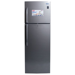 Von Hotpoint HRN-442S/VART-44NHS Double Door Fridge 335L, No Frost, LED - Dark Silver