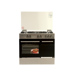 Simfer 9506NEI Prof Cooker 5 Gas + Electric Oven & Cylinder Compartment