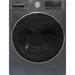 Von VAWD-805FMS Washer & Dryer Front Load 8/5 KG - Silver