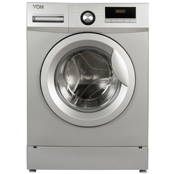 Von HWF-608S/VALW-06FXS Front Load Washing Machine Silver 6KG
