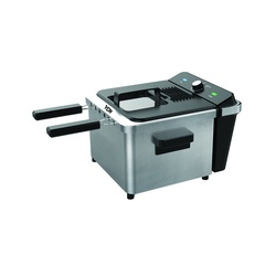 Von VSYD50MBX Deep Fryer, 4.5L – Stainless Steel