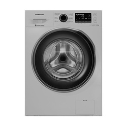 Samsung WW90J5260GS Front Load Washing Machine, Silver - 9Kg