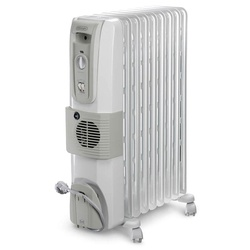 Delonghi KH770925 Oil Filled Radiator Heater - 9 Fins