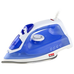Von HSI2142SB/VSIS22BSL Steam Iron Stainless Steel Plate, 2200W – Blue