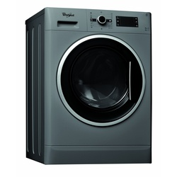 Whirlpool Washer Dryer WWDC 9614 S Front Load 9/6KG Silver + FREE 2KG ARIEL DETERGENT & 1L DOWNY SOFTENER