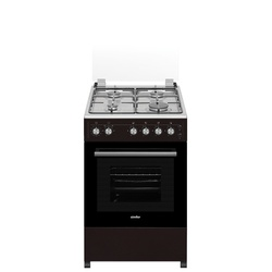 Simfer 5402SGRK 4 Gas Cooker - Brown