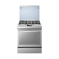 LG LF761S 6 Gas Cooker - Stainless Steel