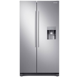 Samsung RS52N3B13S8 Side by Side Fridge, 520L - Silver
