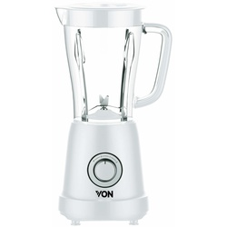Von VSBT03BLW 1.5L Blender + Mill 500W - White