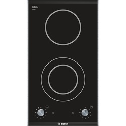 Bosch Built In Hob PKF375V14E 30CM 2 CERAMIC GLASS -  Black