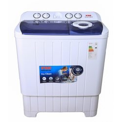 Von VALW-07MLB Twin Tub Washing Machine - White - 7Kg