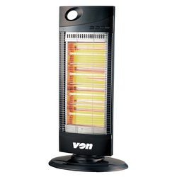 Von VSHK12QK Quartz Heater Tower 90 Degrees Oscillations