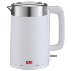 Von VSKL17PDW 1.7L Upright Cordless Kettle - White
