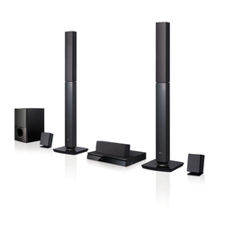 LG LHD647 Home Theatre - 5.1 Channel, 1000W, 2 Tall Boy, Bluetooth