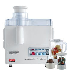 Von VSJF46PSW Juicer 4 IN 1, 500W - White