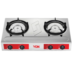 Von VAC7K204X Cast iron Grid Tabletop - Heavy Duty