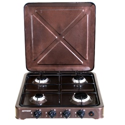 Von 0-440.C/ VAC4F400C 4 Gas Cooker - Copper