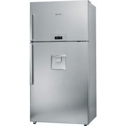 Bosch KDD74AL20N Double Door Fridge, 598L, Non Frost, LED - Silver