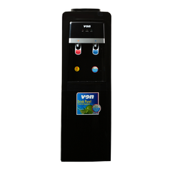 Von VADA2210K Water Dispenser Electric Cooling With Cabinet - Black