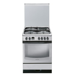 Ariston CX61 S P6 XT (S)/A6MMC6AF (X) I 3 Gas + 1 Electric Cooker - Stainless Steel