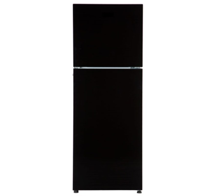 Von VART-31NHK Double Door Fridge 258L - Black