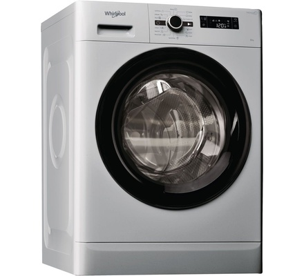 Whirlpool FWF61052SB Washing Machine Front Load, 6KG - Silver