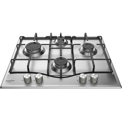 Ariston PCN 642 IX/A Built In HOB, 4 Gas, 60CM - Inox