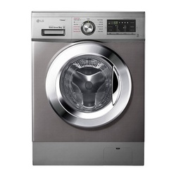 LG FH4G6VDYG6 Front Load Washing Machine, 9KG - Silver