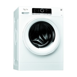 Whirlpool Washing Machine FSCR70212 Front Load 7KG White Z.Motor + FREE 2KG ARIEL DETERGENT & 1L DOWNY SOFTENER