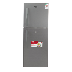 Von VART-25NHS Double Door Fridge 220L - Silver
