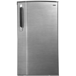 Von VARS-24DGS Single Door Fridge 185L - Silver