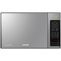 Samsung MS405MADXBB/SG Microwave Oven Solo 40L Mirror Silver