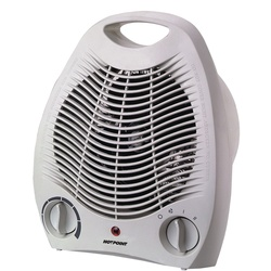 Hotpoint HFH201UL 2KW V/Fan Heater - White