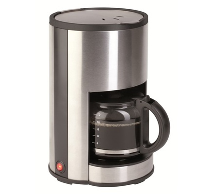 Von Hotpoint HC112DS/VSCD12BDX 12 Cup Coffee maker - Stainless steel