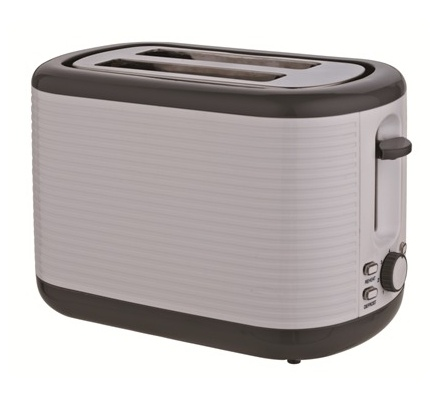Von Hotpoint HT232DWP Two Slice Toaster - Pattern White