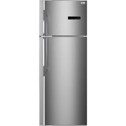 VON HRN-412S Double Door Fridge, Top Mount Freezer 331L – Silver