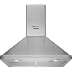 Ariston AHPN 6.4F AM X Built In Hood, 60CM Chimney 3 - Silver