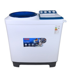 Von VALW-10MLB Twin Tub Washing Machine - White - 10Kg