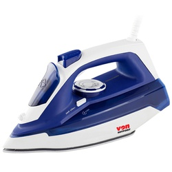 Von HSI2223SB/VSIS22MSL Steam Iron Ceramic Plate, 2200W – Blue