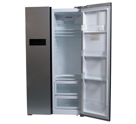 Von Hotpoint HRZ-207S/VARZ-25NSS Side By Side Fridge 482L No Frost, LED - Silver