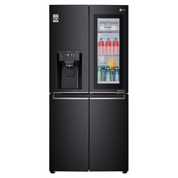 LG GC-X22FTQKL Refrigerator, Side by Side, 570L – Black