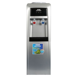 Von VADA2210S Water Dispenser Electric Cooling- with Fresh Cabinet - Silver/Black
