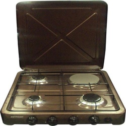 Von O-431.C/ VAC4F300C 3 Gas 1 Electric Cooker - Copper