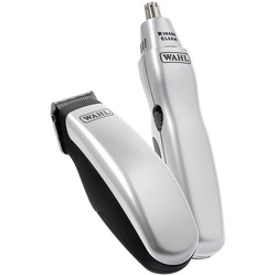 Wahl 9962-1816 Travel Kit Battery Operated Beard Trimmer and Nose/Ear Hair Trimmer